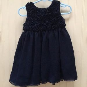 Carters navy dress